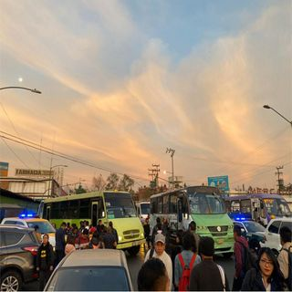 Caos y confusión en Metro Tacubaya