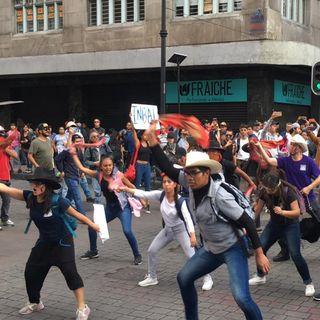 Catorce heridos tras marcha del 2 de octubre