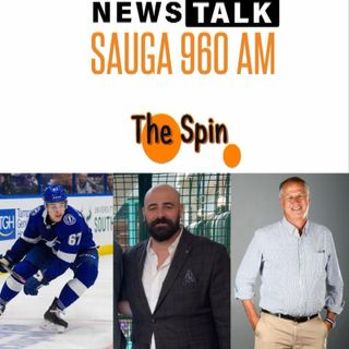 The Spin - April 24, 2020 - Mitchell Stephens of Tampa Bay Lightening Talks NHL, Future of International Travel & Touching Base in Georgia