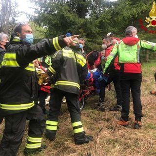 Ritrovato ferito nei boschi un 54enne scomparso