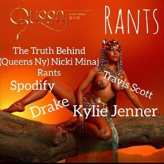 THE TRUTH BEHIND #nickiminaj Twitter Rants #drake #travisscott #kyliejenner #spotify #astroworld #albumQueen
