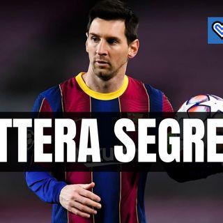 """France Football svela una """"lettera segreta""""  per Messi al PSG"""