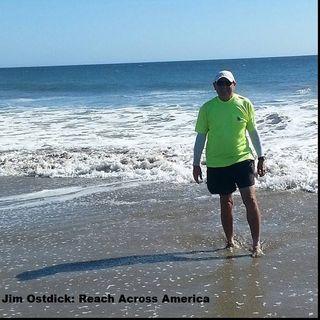 Big Blend Radio - Jim Ostdick Finishes His Walk Across America
