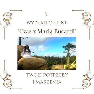 """Wykład """"Czas z Marią Bucardi"""" nr 31. Jak wyleczyć rany podświadomości."""