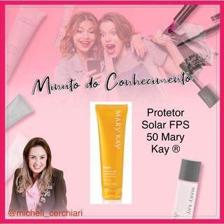 Protetor Solar FPS 50 Mary Kay ®