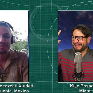 #255 Medicina Ancestral Mexicana. Entrevista con Ocelocozcatl Xiutletl (Podcast)