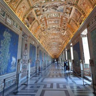 Muzea Watykańskie #2 - Galeria map geograficznych