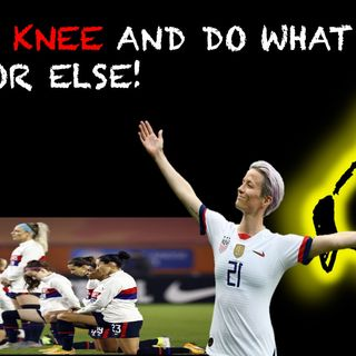 USWNT takes a knee per the usual