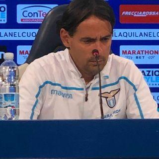 04.05.2019 Conferenza Stampa Simone Inzaghi Pre Lazio-Atalanta