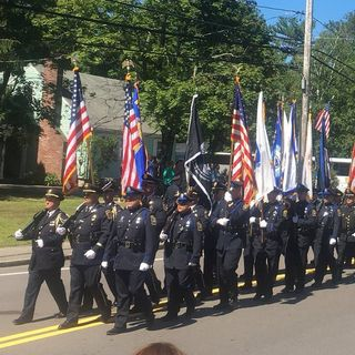 Funeral Held For Weymouth Police Sgt. Michael Chesna