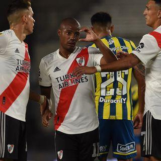 Gol de River: Nicolás de la Cruz 3-0