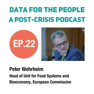 Peter Wehrheim - Head of Food Systems and Bioeconomy at the European Commission