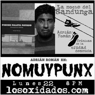 NoMuyPunx con Adrián Román