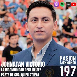 Johnatan Victorio: La incomodidad debe de ser parte de cualquier atleta