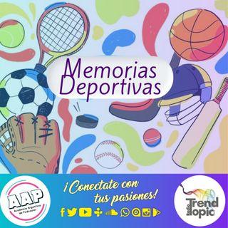 Memorias deportivas