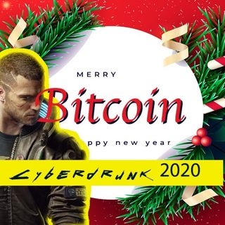 Merry Bitcoin i Cyberdrunk 2020