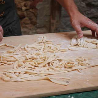 Traditional Tuscan Recipe: the 'Pici' pasta