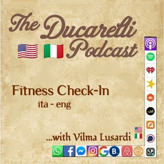 Fitness Check-in Vilma Lusardi VMotivated ITA ENG