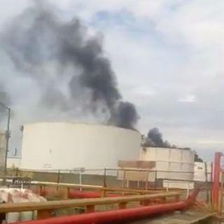 Explosión en refinería de Salina Cruz, Oaxaca