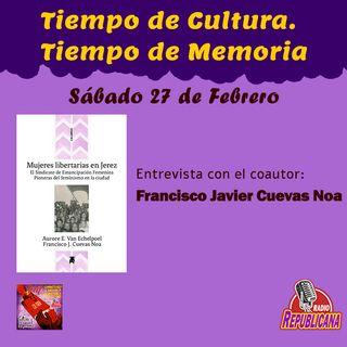 Tiempo de Cultura - Tiempo de Memoria. Programa #19 - Francisco José Cuevas Noa