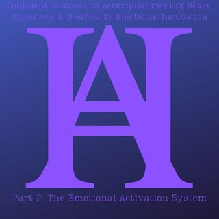 Confident, Successful Accomplishment Of Goals, Objectives & Desires #2 Emotional Activation