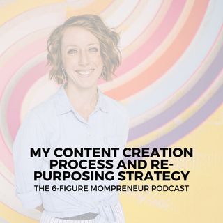 My content creation process and re-purposing strategy