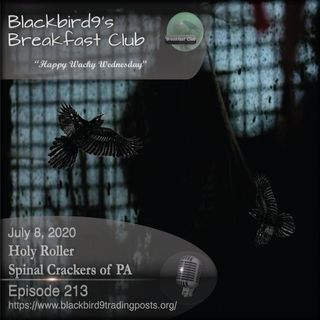 Holy Roller Spinal Crackers Of PAX - Blackbird9 Podcast
