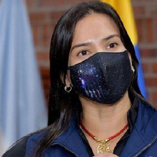 Miyerlandi Torres secretaria de salud de