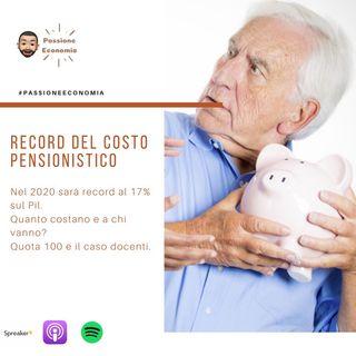 Boom del costo per le pensioni. Quante sono e a chi vanno?