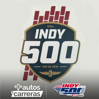 102nd Indy500 - 2019 Indianaplis 500 logo