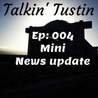 Episode 004: Mini News Update