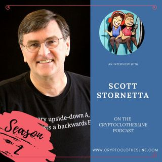 Dr Scott Stornetta: Co-Inventor of Blockchain on Crypto Clothesline