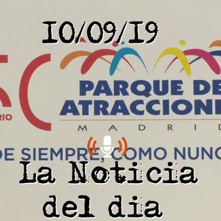 Almeida conmemora el 50 aniversario del Parque de Atracciones de Madrid | LaNoticiaDelDia
