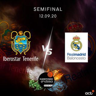 SuperCopa Endesa Tenerife 2020: IBEROSTAR TENERIFE-REAL MADRID