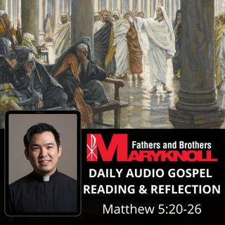Friday of the First Week of Lent, Matthew 5:20-26