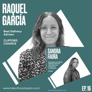 Episodio 16: Imaginando el futuro del trabajo. La abogacía que viene con Raquel García y Sandra Faura