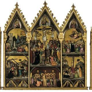 95 - Le storie di santa Chiara da Montefalco e del vescovo D'Amiel in una cappella affrescata e in due polittici trecenteschi