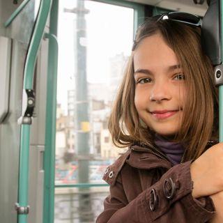 ¿A qué edad empezaste a usar el transporte público tú solo?
