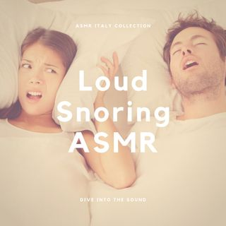 Loud Snoring at Night ASMR