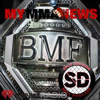 BMF Belt UFC 244 Diaz Masvidal Cerrone Mcgregor Trump Gastelum Ladd Cleared Invicta FC 38