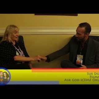 Asking Filmmaker Sue Dontell About Ask God: an interview on the Hangin With Web Show