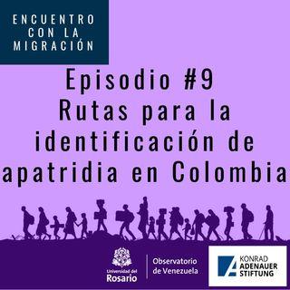 Rutas para la identificación de la Apatridia en Colombia