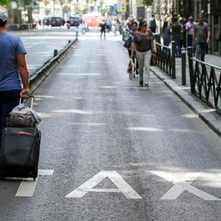 Passagem de ano acaba com viagem de táxi milionária