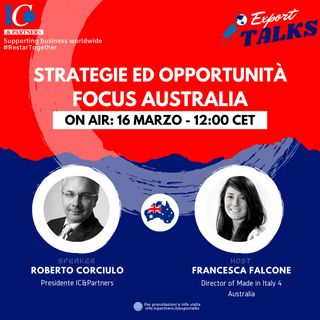Export talks Focus Australia