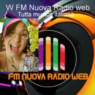 W FM Nuova Radio web, tutta musica italiana, condotto da DEBORA, 10/03/2021