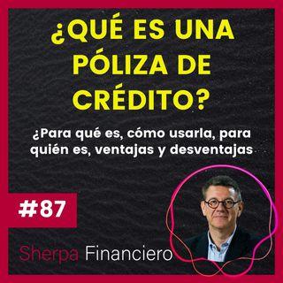 #87 🤔 ¿Qué es una póliza de crédito? Para qué es, cómo usarla, para quién, ventajas y desventajas