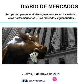 DIARIO DE MERCADOS Jueves 6 Mayo