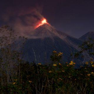 Disminuye actividad en volcán de Fuego