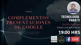 Complementos Presentaciones de Google