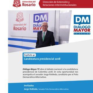 Jorge Robledo, candidato por el Polo Democrático